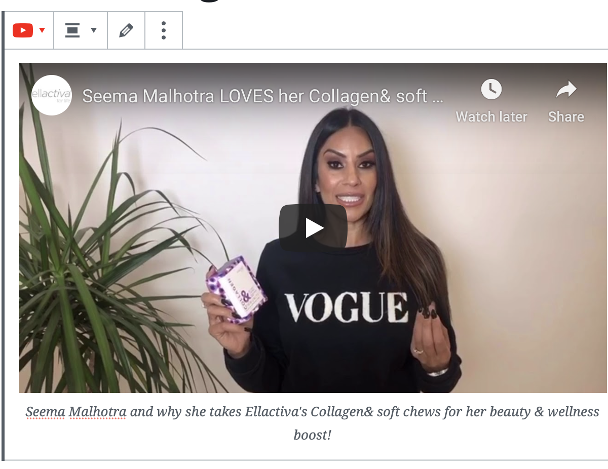 Read Why Seema Malhotra LOVES her Collagen& Soft Chews