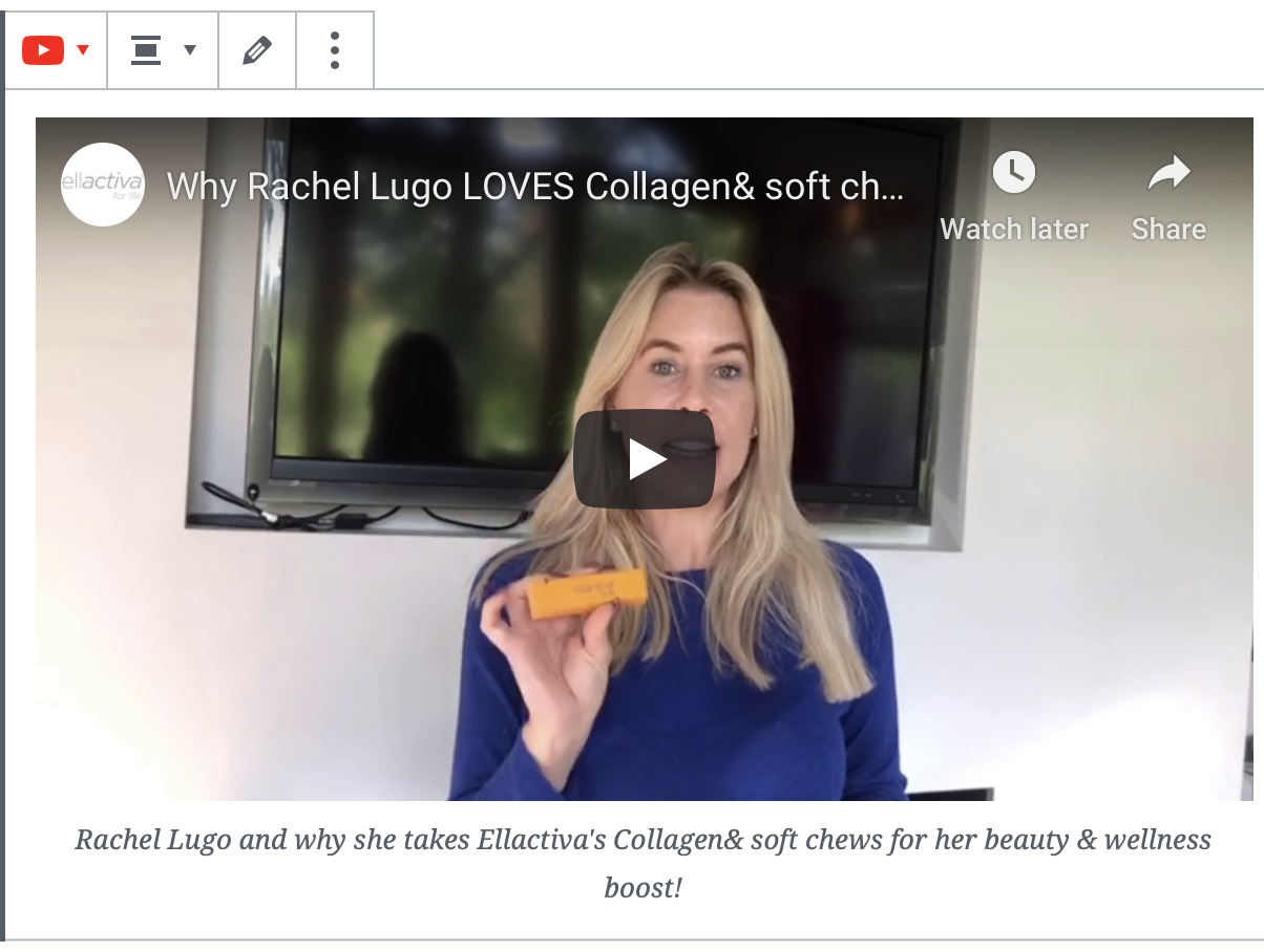 Read Why Rachel Lugo LOVES Collagen& soft chews