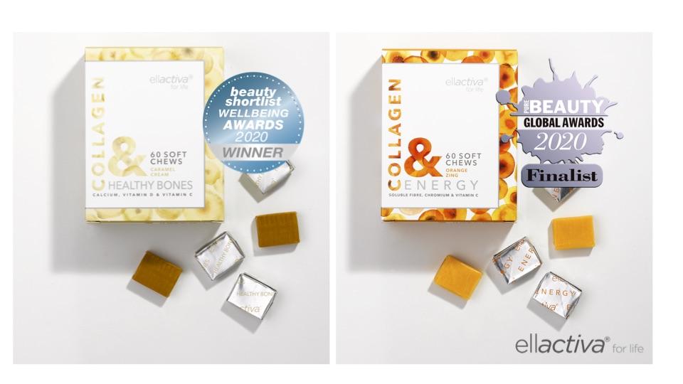 Ellactiva® Collagen& Soft Chews Enjoy Fabulous Double Award Success!