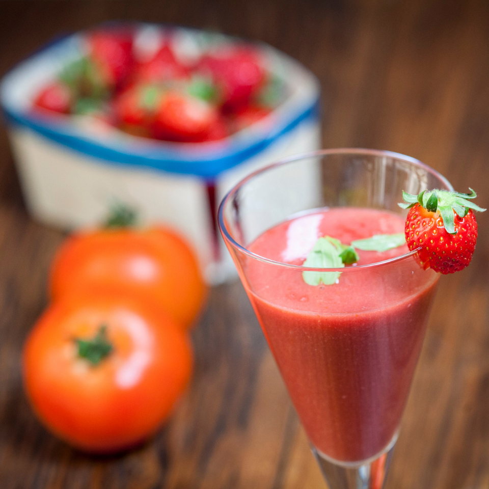 Hydrating Glowing Skin Strawberry Gazpacho