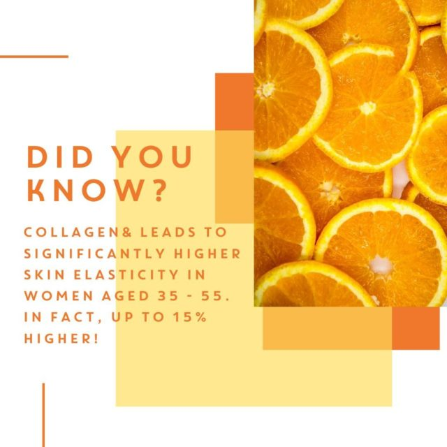 Did you know, we carried out a study with 69 women aged between 35 and 55 years, which revealed that the specific Bioactive Collagen Peptides® used in Collagen& leads to significantly higher skin elasticity – up to 15% – compared to placebo treatment. ⁠ ⁠ This effect could be measured after just 4 weeks of treatment and persisted after 8 weeks of taking.⁠ ⁠ Seriously, what are you waiting for? Subscribe and SAVE now!