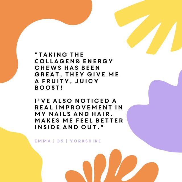 Here's just one of our happy Collagen& customers, could you be our next one?  Click the link in our bio to start your Collagen& inner health & outer glow journey today!