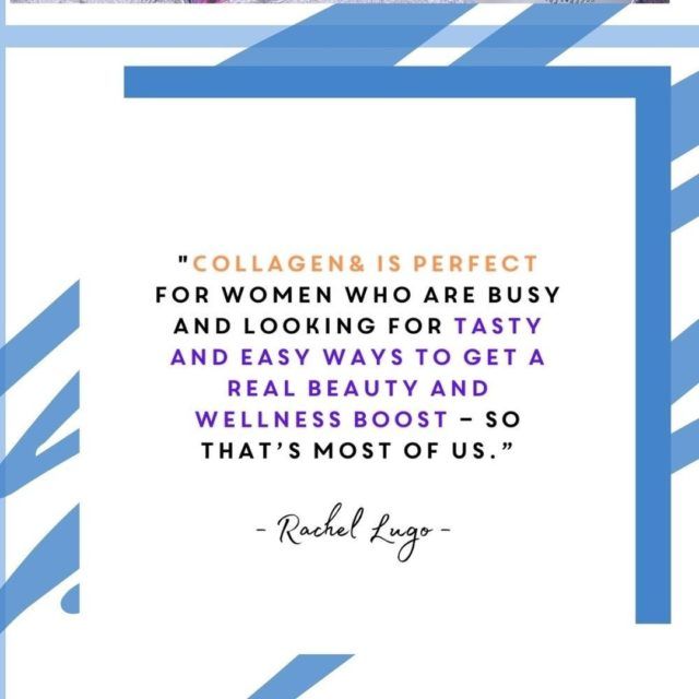 We LOVE how much @RachelLugo1 from Real Housewives of Cheshire ADORES our Energy and Immunity Collagen& soft chews!  We chatted to Rachel about life, wellbeing and staying positive, head over our stories to see a little more about what Rachel had to say!