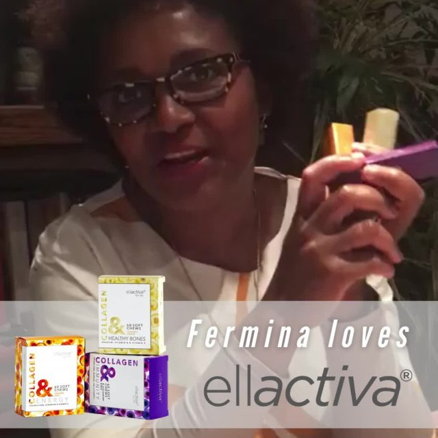 Fermina Lawson is co-founder and managing director of an Oxford based consultancy specialising in public finance management and public policy in emerging markets. We are delighted she found time in her busy schedule to send us this lovely video about her experience  with Ellactiva Collagen& chews. She has been a regular customer for about six months and is loving the benefits specially to her hair and nails ...