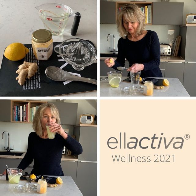 "Ellactiva® Wellness 2021 Campaign – Kina's Morning Tonic  We  have asked our customers to share a wellness hack that has massive impact on their lives and we will be featuring a selected participant every month.  This month we are featuring Kina Malmberg-Lovatt who has kindly shared the recipe for her morning ""tonic"" that she swears by.  ""As well as my daily Ellactiva® Collagen& chews which keep my skin, hair and nails in good condition, I start my day with a ""morning tonic"". The tonic is made with honey, lemon and ginger and has high antiviral and powerful immune boosting  properties and it takes just minutes to prepare...""   Click the link in our bio to read more and get Kina's recipe👆🏼"