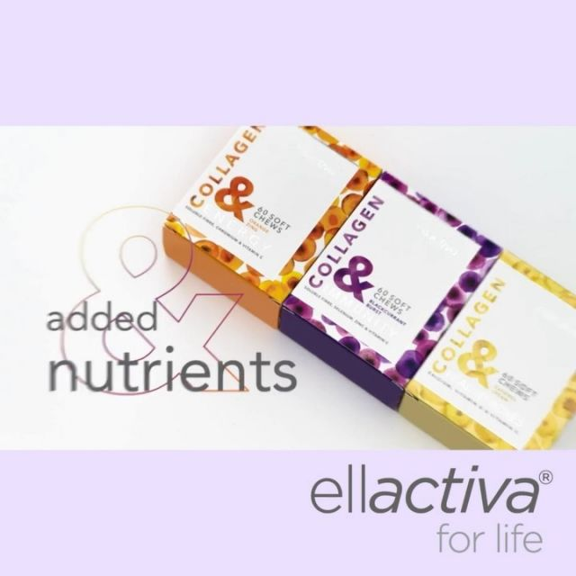 Boost Your Daily Beauty & Wellness Regime and SAVE with your own personalised Ellactiva® Beauty & Wellness Subscription Plan. BUY 3 PACKS AND PAY FOR 2, delivered every 60 days. Combining Superior Bioactive Collagen Peptides®with Vitamins, Minerals and Prebiotic Fibre in a Delicious Soft Chew, Ellactiva® is the Ultimate Wellness Supplement. Perfect for beautiful skin and wellness, clinically proven visible skin, hair and nail benefits, whilst targeting Immunity, Energy and Healthy Bones.  Not only gives you the superior clinically proven Bioactive Collagen Peptides® you need for more youthful-looking skin in as little as 4 weeks but the unique blends of prebiotic fibre and multi-nutrients give your immunity a boost, help to keep your bones healthy, or indeed give you a much-needed dose of energy!⠀ ⠀  Click the link in our bio to learn more about the , Ellactiva® Beauty & Wellness Subscription Plan 👆🏼