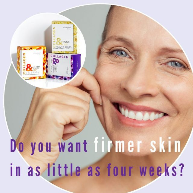 Not all collagen is the same.  The Bioactive Collagen Peptides® used in Ellactiva® Collagen& are scientifically optimised for maximum stimulation of collagen biosynthesis and have been clinically proven to deliver significant skin benefits*.  •A study with 69 women aged between 35 and 55 years revealed that the specific Bioactive Collagen Peptides® used in Collagen& leads to significantly higher skin elasticity compared to placebo treatment.  This effect could be measured after just 4 weeks of treatment and persisted after 8 weeks of taking.  •Another study with more than 100 women aged between 45 and 65 years shows that in ingesting the specific Bioactive Collagen Peptides® used in Collagen& significantly reduces wrinkles after 4 weeks and leads to 65% higher skin pro-collagen concentration. You can read more about our collagen and find references to the published clinical trials by clicking the link in our bio